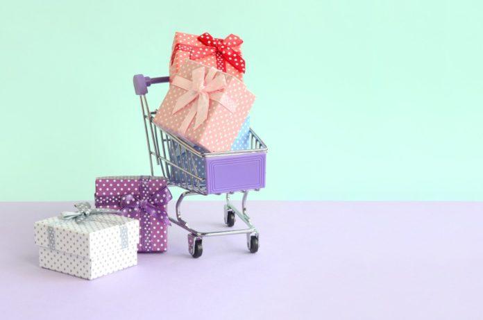 naissance avec la boîte rose
